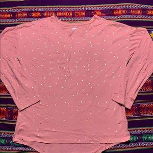 Long sleeve festive shirt